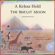 The Biscuit Moon (Hungarian-English)