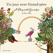 A Day with Grandpa (French-English)