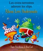 Aliens Love Underpants (Lithuanian-English)