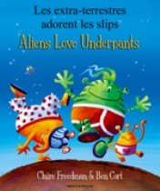 Aliens Love Underpants (Portuguese-English)