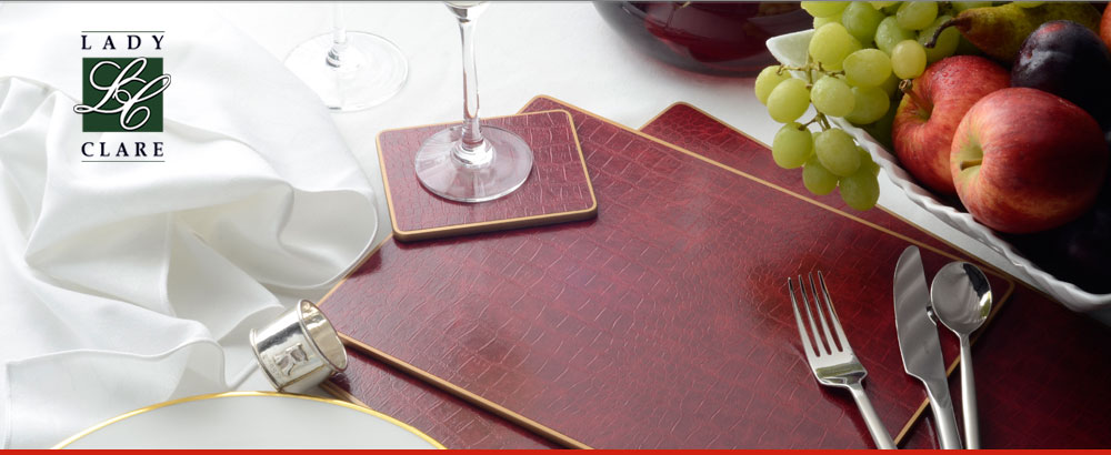 Placemats made in Great Britain