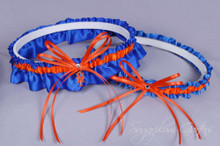 New York Mets Wedding Garter Set