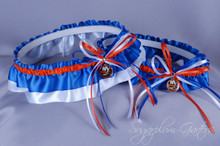 New York Islanders Classic Wedding Garter Set