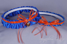 New York Islanders Wedding Garter Set