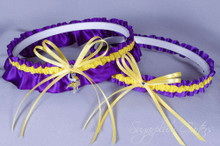Minnesota Vikings Wedding Garter Set