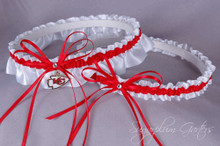 Kansas City Chiefs Wedding Garter Set