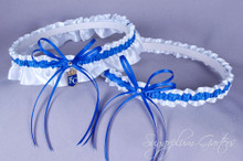 Kansas City Royals Wedding Garter Set