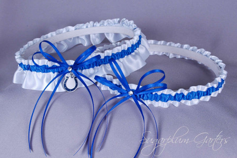 Indianapolis Colts Wedding Garter Set