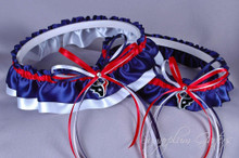 Houston Texans Classic Wedding Garter Set