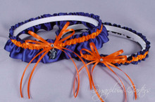 Detroit Tigers Wedding Garter Set