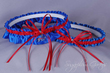 Buffalo Bills Wedding Garter Set