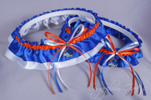 Boise State University Broncos Classic Wedding Garter Set