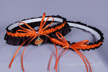 Baltimore Orioles Wedding Garter Set