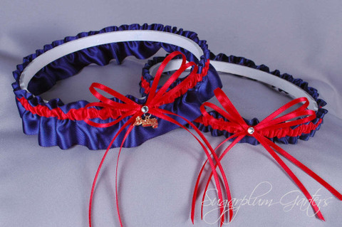 Atlanta Braves Wedding Garter Set
