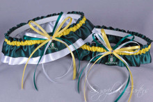 University of Oregon Ducks Classic Wedding Garter Set