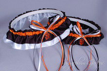 San Francisco Giants Classic Wedding Garter Set