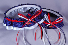 University of Mississippi Ole Miss Rebels Classic Wedding Garter Set