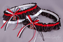 University of Nebraska Cornhuskers Wedding Garter Set