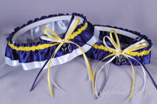 University of Michigan Wolverines Classic Wedding Garter Set