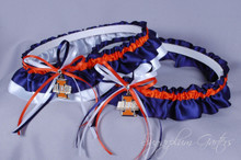 University of Illinois Fighting Illini Classic Wedding Garter Set
