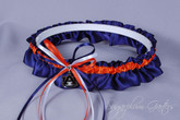 Auburn University Tigers Wedding Garter