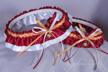 San Francisco 49ers Classic Wedding Garter Set