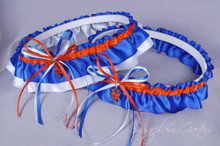 New York Mets Classic Wedding Garter Set