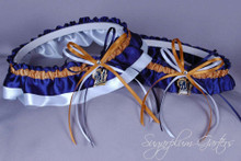 Milwaukee Brewers Wedding Garter Set