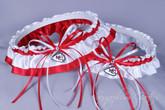 Kansas City Chiefs Classic Wedding Garter Set