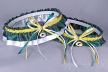 Green Bay Packers Classic Wedding Garter Set