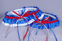 Gonzaga University Bulldogs Wedding Garter Set