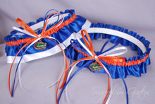 University of Florida Gators Wedding Garter Set