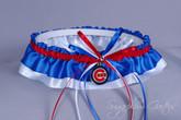 Chicago Cubs Classic Wedding Garter