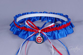 Chicago Cubs Wedding Garter