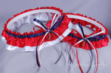 Boston Red Sox Classic Wedding Garter Set