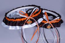 Baltimore Orioles Wedding Garter Set