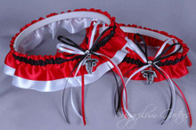 Atlanta Falcons Classic Wedding Garter Set