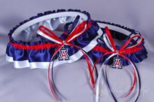 University of Arizona Wildcats Wedding Garter Set