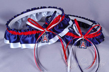 University of Arizona Wildcats Classic Wedding Garter Set