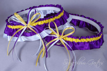 Baltimore Ravens Classic Wedding Garter Set