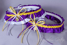 Minnesota Vikings Classic Wedding Garter Set
