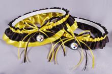 Pittsburgh Steelers Classic Wedding Garter Set