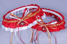 San Francisco 49ers Wedding Garter Set