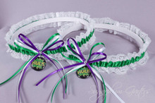 Hulk Lace Wedding Garter Set
