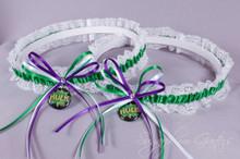 Hulk Lace Wedding Garter Set