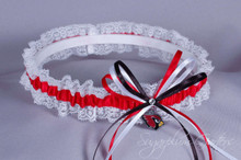 Arizona Cardinals Lace Wedding Garter