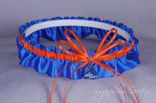 Boise State University Broncos Wedding Garter