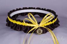 Boston Bruins Wedding Garter
