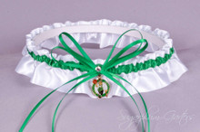 Boston Celtics Wedding Garter