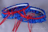 Buffalo Bills Matching Wedding Garter Set